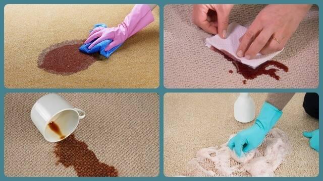 Как отмыть ковролин в домашних условиях