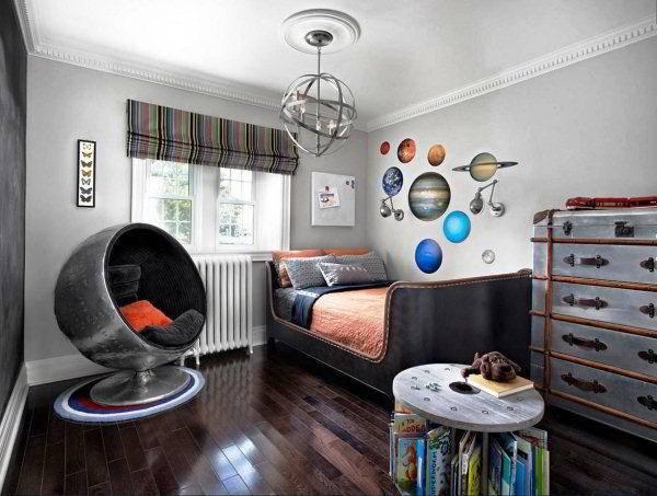 Варианты детской комнаты для мальчика фото