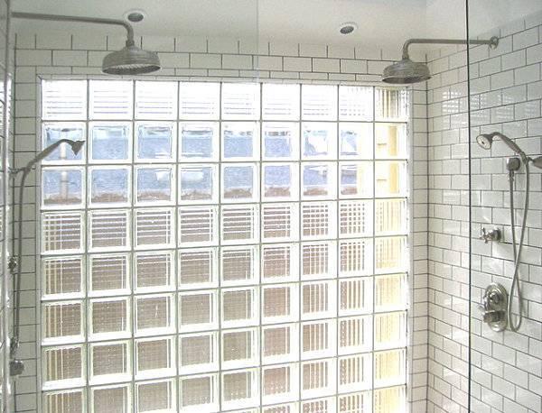 стеклоблоки в ванной комнате фото ремонт в квартире