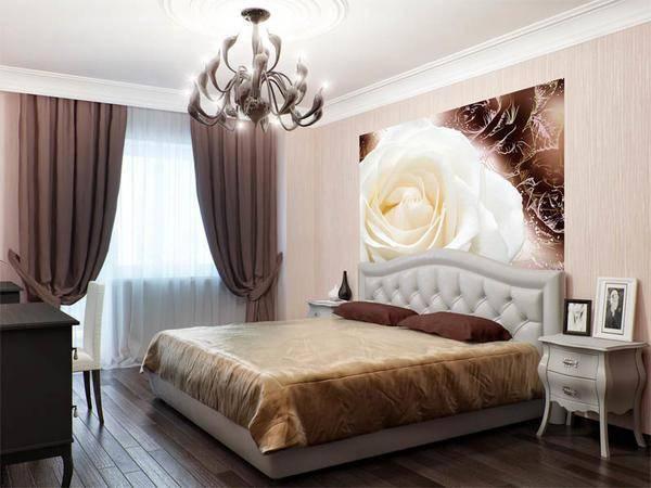 Как красиво поклеить комнату разными обоями фото