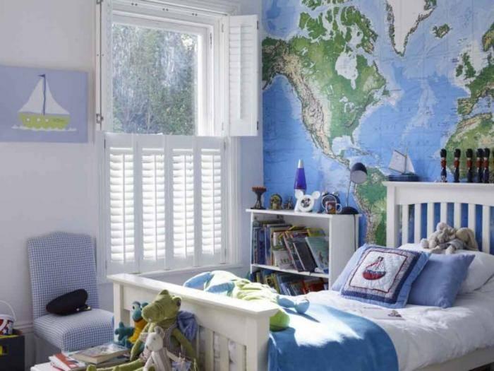 Примеры детской комнаты для мальчика