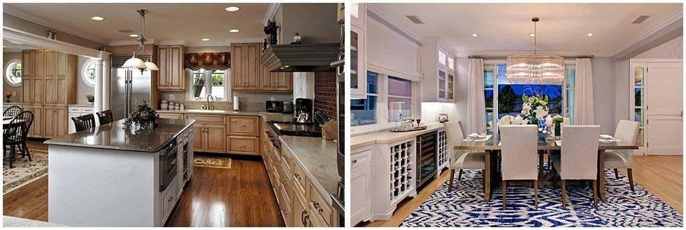 Кухни под потолок фото