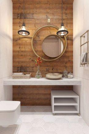 Как оформить маленький туалет