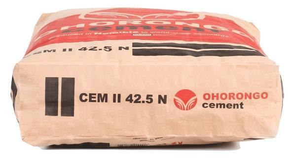 Цемент 32 5б какая марка