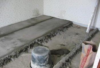 Пропорции пескоцементной смеси м300