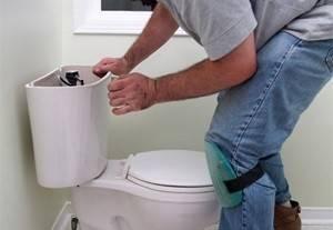 Как правильно поставить унитаз на плитку