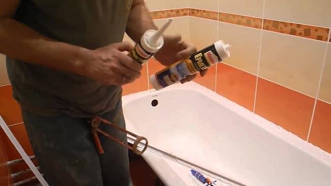 Как установить угловую ванну видео