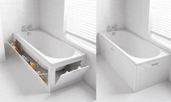 Как крепить экран под ванну