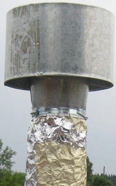 Дефлектор печки