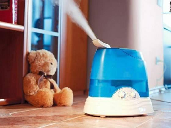 Если в комнате сухой воздух что делать