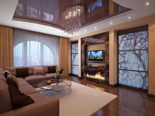 Дизайн комнаты с аквариумом фото