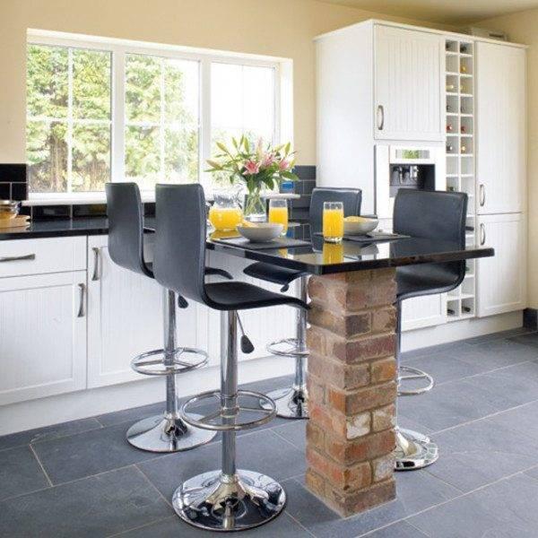 Высота барной стойки стандарт на кухне