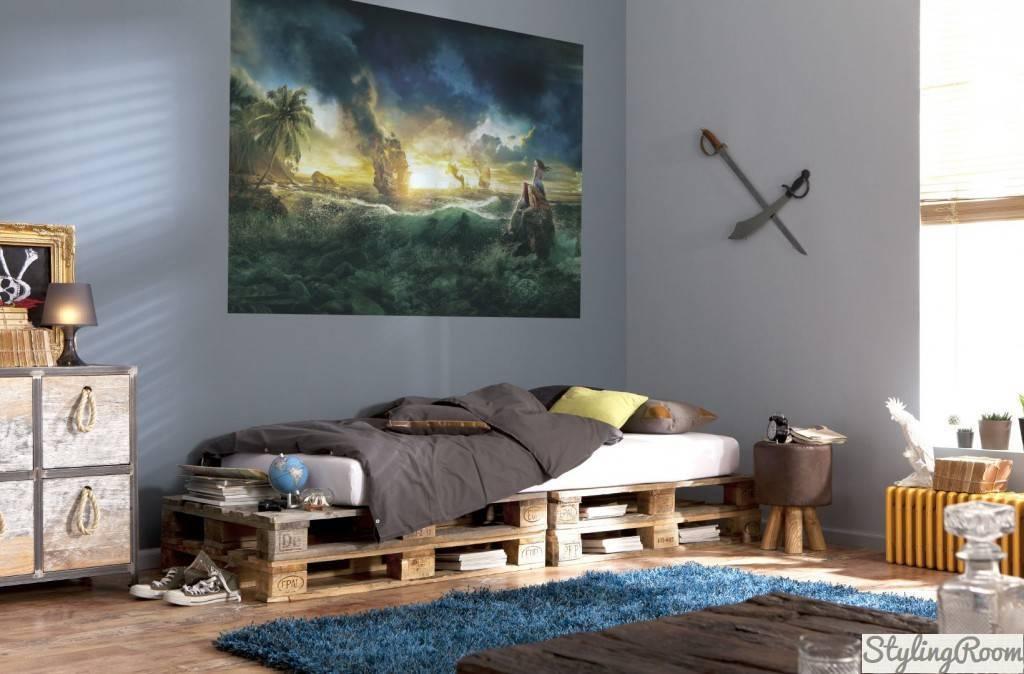 Как оформить детскую комнату для мальчика фото