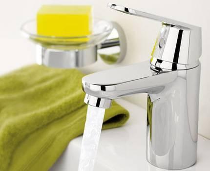 Смеситель для ванны горизонтальный монтаж