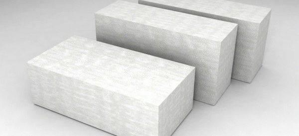 Размеры пеноблоков для несущих стен