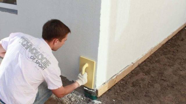 Как оштукатурить газосиликатные блоки