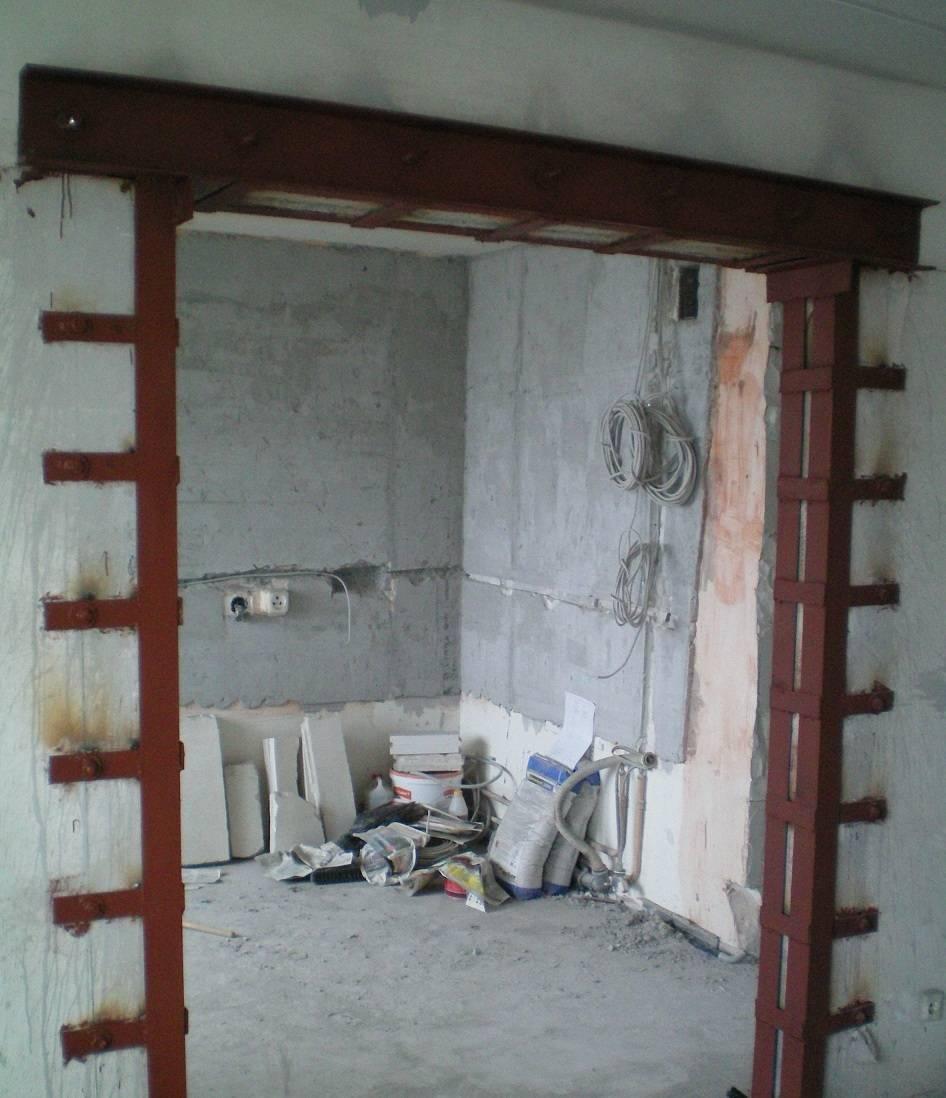 Как задекорировать дверной проем без двери фото