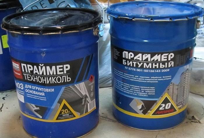 Праймер битумный применение