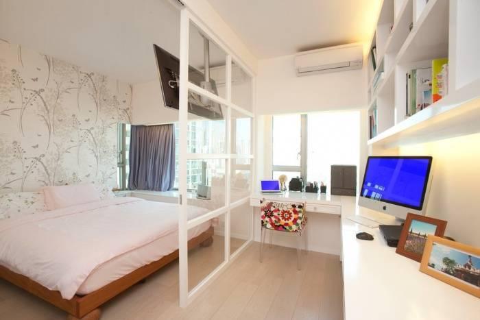 Примеры перепланировки однокомнатной квартиры