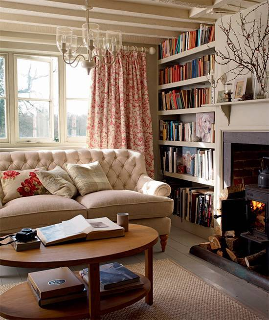 Мебель в английском стиле фото