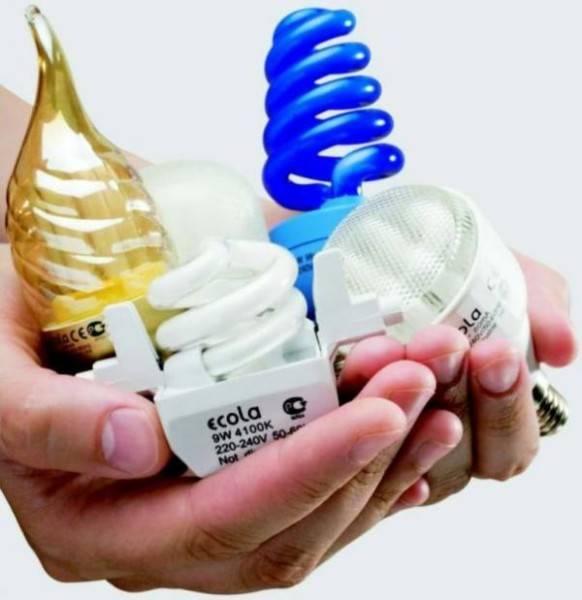 Мигание энергосберегающей лампы после выключения