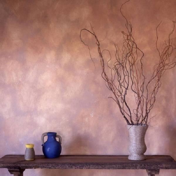 Стены покрашенные водоэмульсионной краской фото