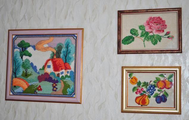 Как прикрепить фотографии на стену без гвоздей