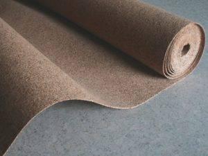Подложка для линолеума на деревянный пол
