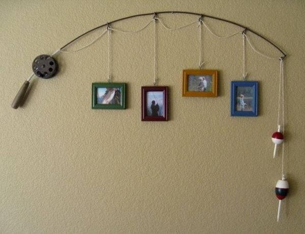 Повесить картину на стену без гвоздей
