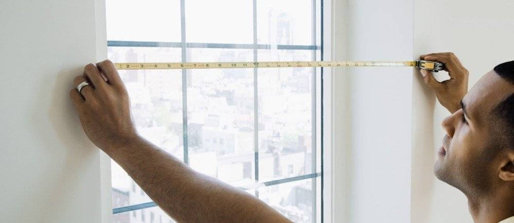 Расчет квадратных метров комнаты