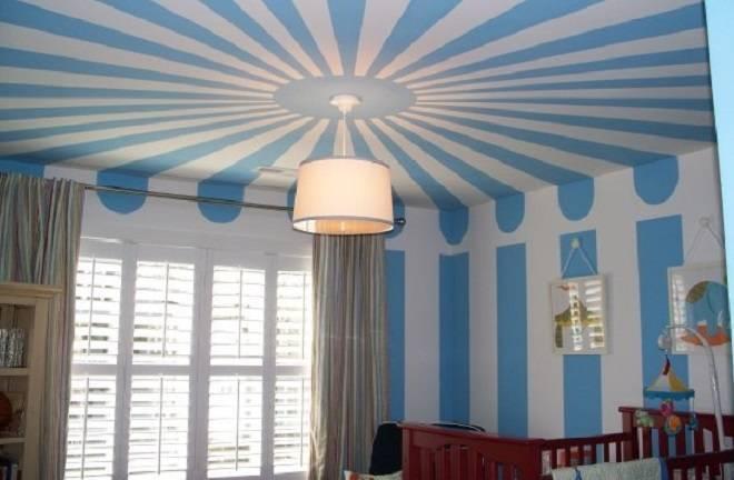 Как правильно покрасить потолок водоэмульсионной краской видео
