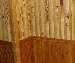 Поклейка бамбуковых обоев видео