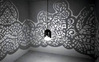 Простые рисунки на стене