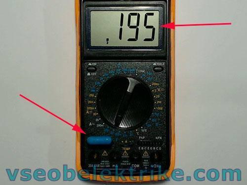 Мультиметр м832 как пользоваться