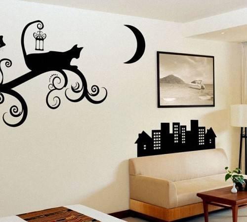 Как нарисовать на стене рисунок