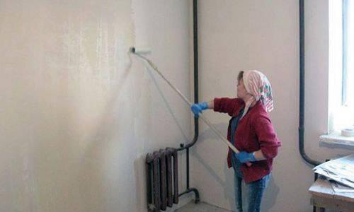 Техника нанесения жидких обоев на стены