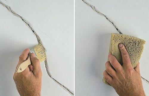 Технология подготовки стен под обои