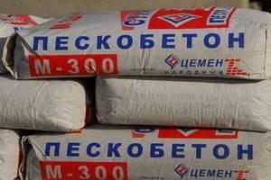 М 300 пескобетон