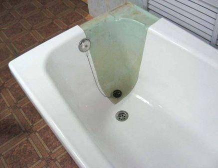 Старая ванна что делать