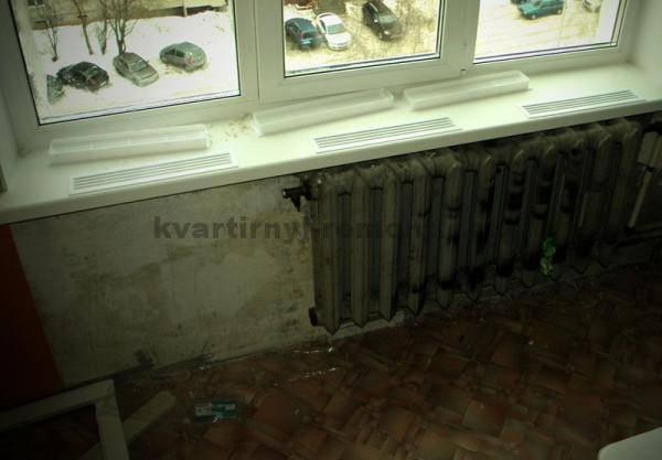 Потеет окно внутри квартиры