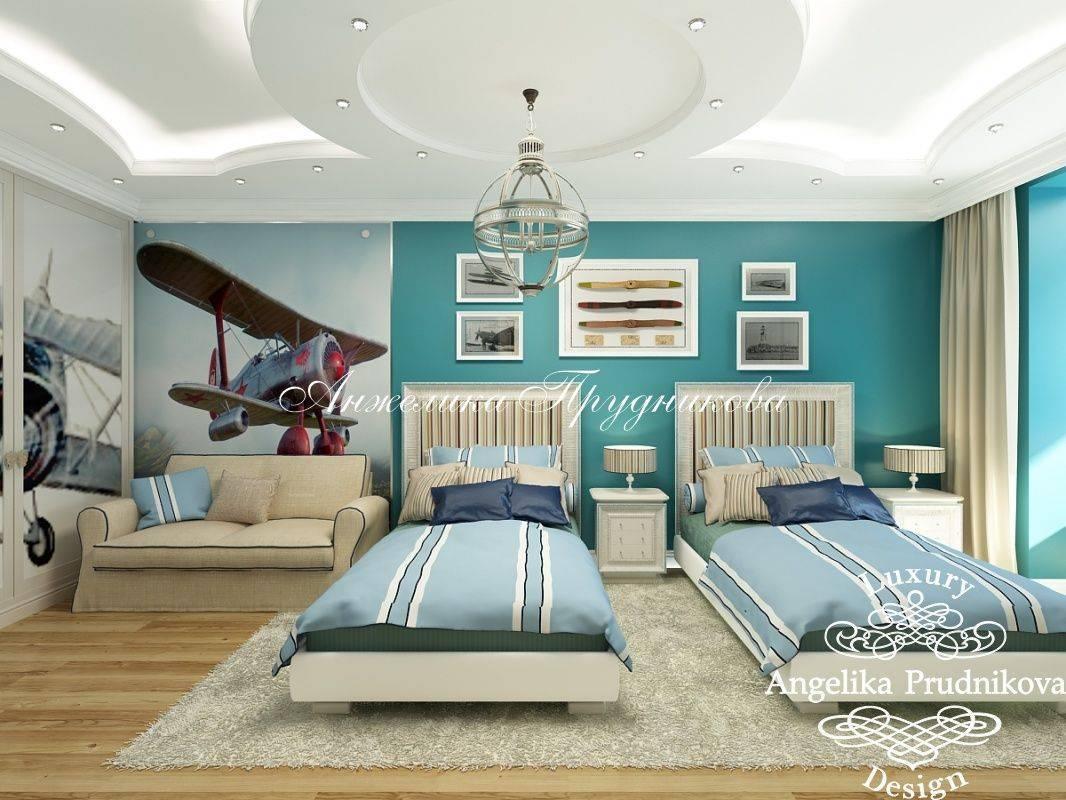 Дизайн дитячої кімнати для двох дітей