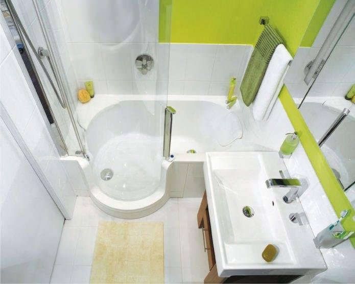 Ванні кімнати малих розмірів