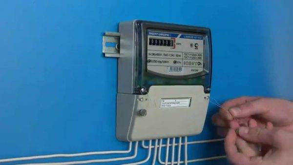 Поверка электрического счетчика на дому
