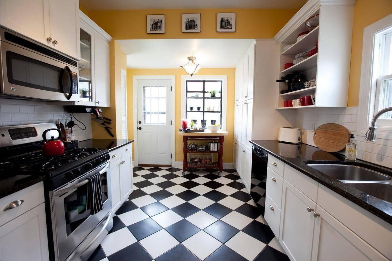 Что лучше положить на пол в кухне