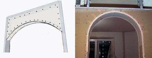 Прямоугольные арки в интерьере