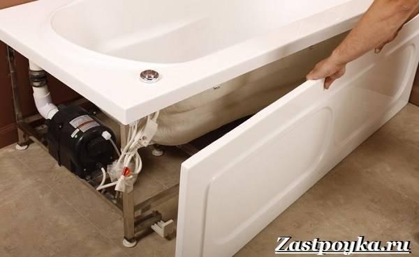 Как правильно устанавливать акриловую ванну