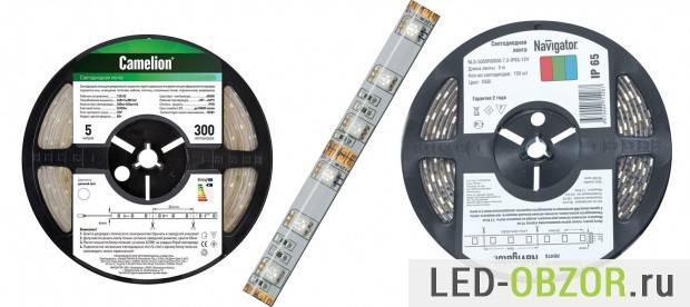 Светодиодные ленты для дома как выбрать