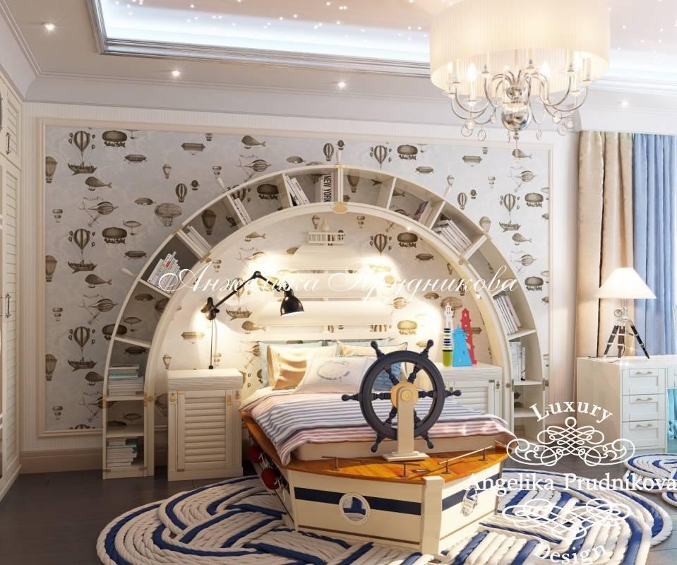 Оформление детской комнаты для мальчиков
