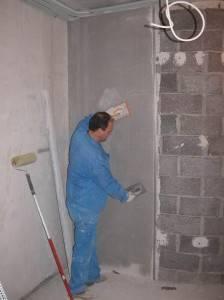 Как штукатурить стены ротбандом