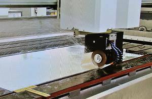 Как правильно резать рифленое стекло стеклорезом
